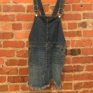 Denim Free People Overall